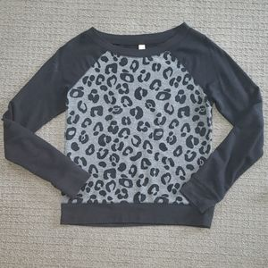 Xhilaration Leopard Print Sweater